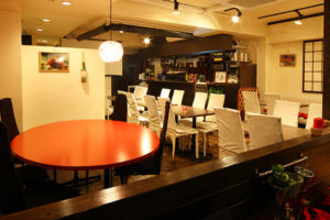 dining cafe & bar Anzu-ki(アンズキ) 店舗内観