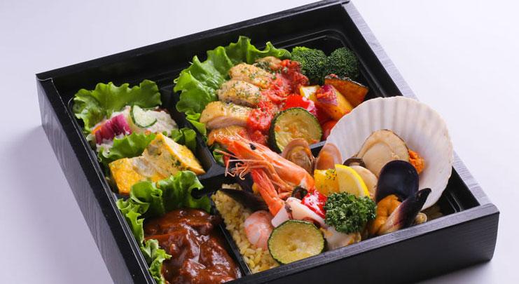 美桜鶏のグリルラタトゥイユソースと 季節のパエリア御膳